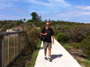Walking at Watsons Bay, Sydney