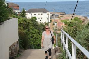 Walking towards Coogee