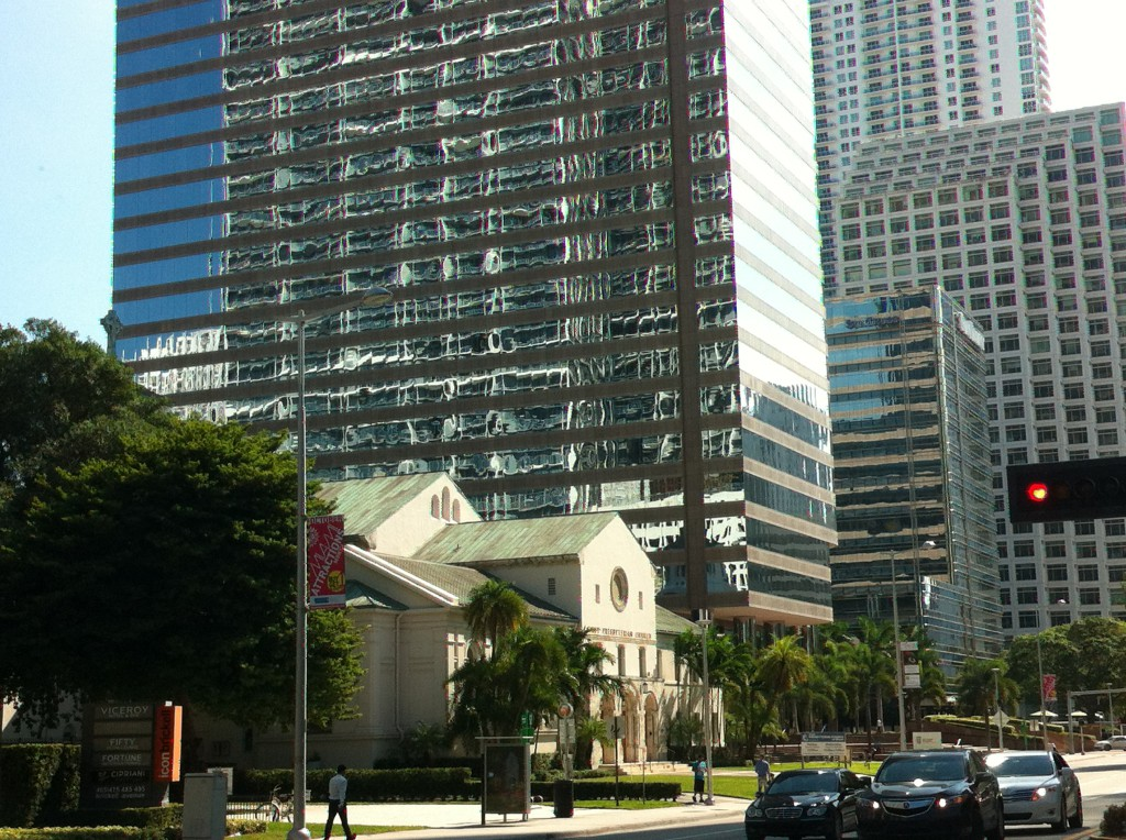 Downtown Miami, Miami driving route