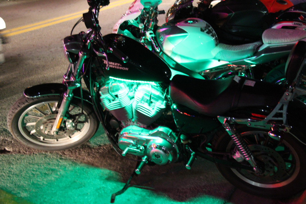 Harley Davidson, Ocean Drive, Miami