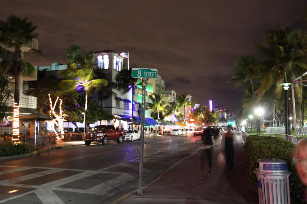 Street sign, Ocean Drive, Miami