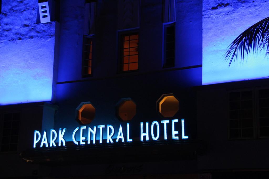 Park Central Hotel, Ocean Drive, Miami