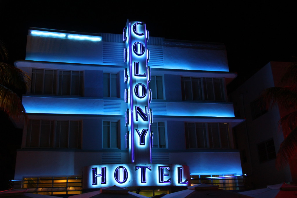 Colony Hotel, Ocean Drive Art Deco