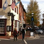 King Street and The Wharf, Old Town Alexandria