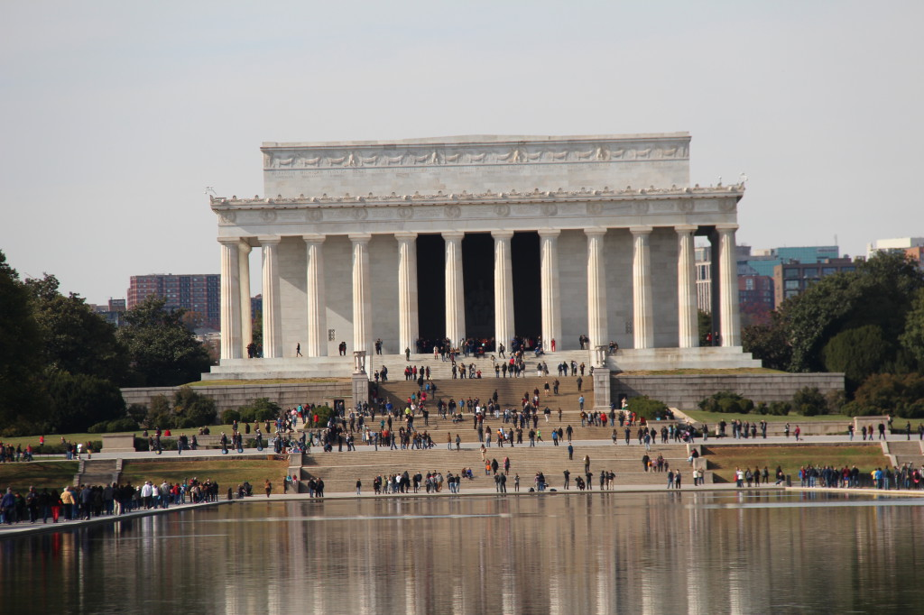 Lincoln Memorial, National Mall walking itinerary