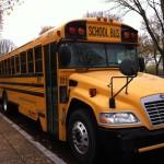 School bus, National Mall, Washington DC