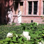 Statues, Jagellonian University, Krakow