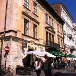 Street view, Krakow Old Town