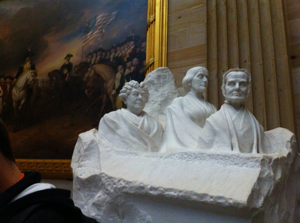 Statues in the Dome, US Capitol