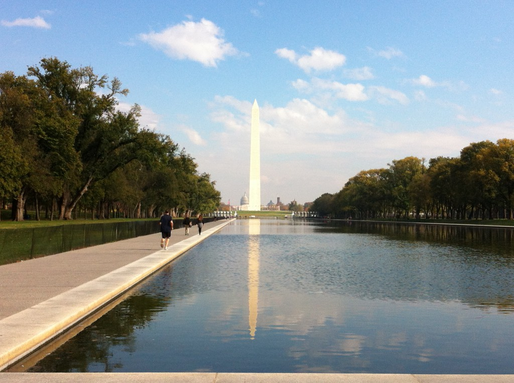 Washington Monument from the Reflecting Pool