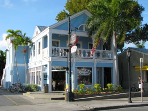 A typical house in Key West