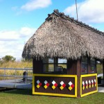 Airboat station, Miccosukee Restaurant, the Everglades