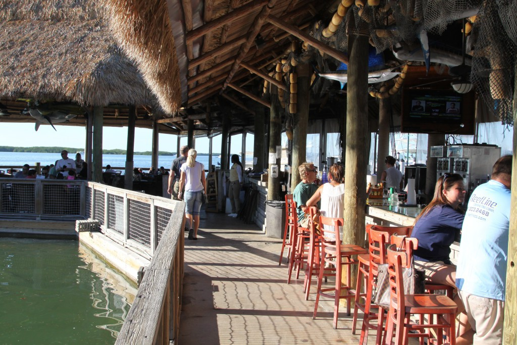 Bar and seafood restaurant, Islamorada, Florida Keys
