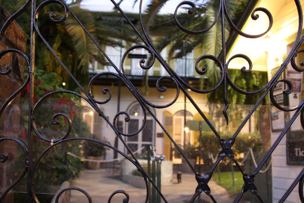 Gate of Hemingway Home, Key West