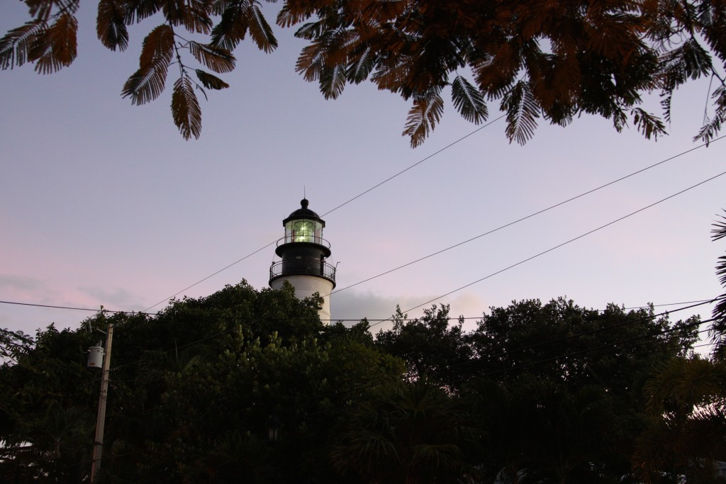 A lighthouse in Key West
