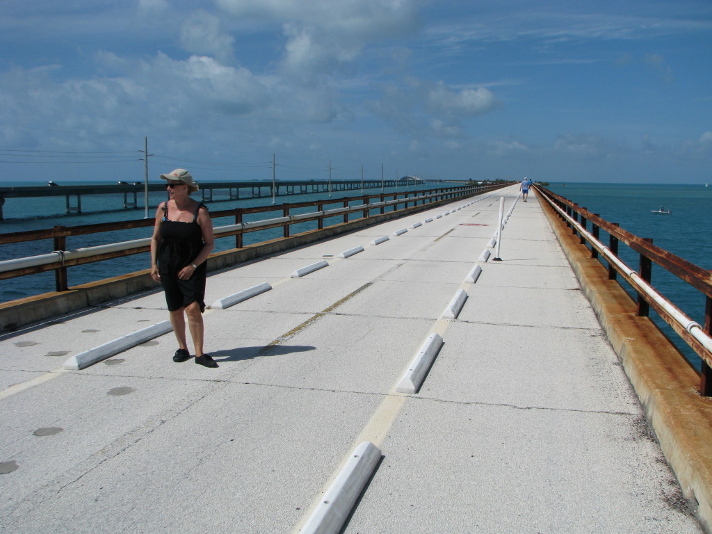 Walking to Pigeon Key, Florida Keys