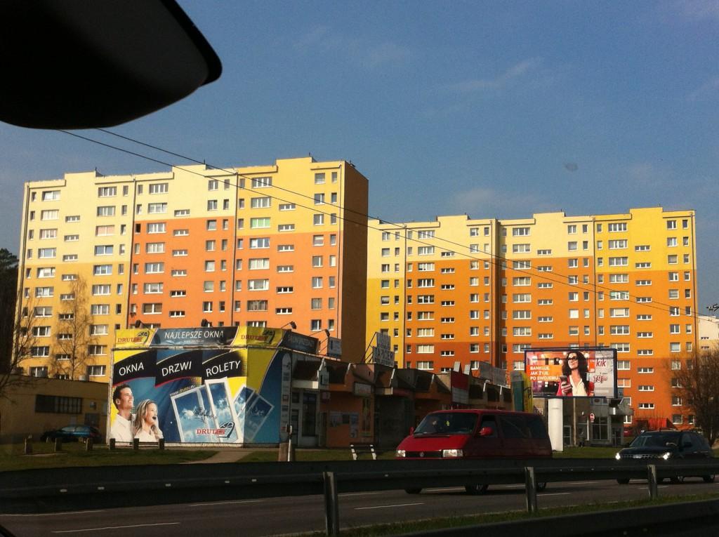 Apartment buildings, Gdansk