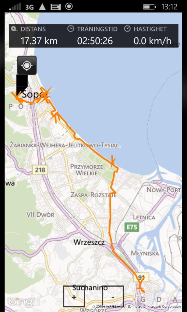 Bike trip to Sopot