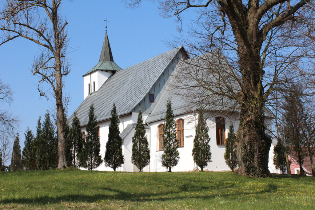 Church of Wicko, Poland