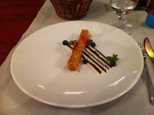 Dessert, Restaurant Kocieteria, Gdansk