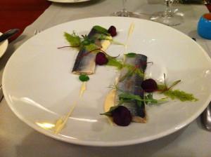 Herring, Kocieteria, dining in Gdansk