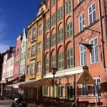 Houses on Motlawa River, Gdansk