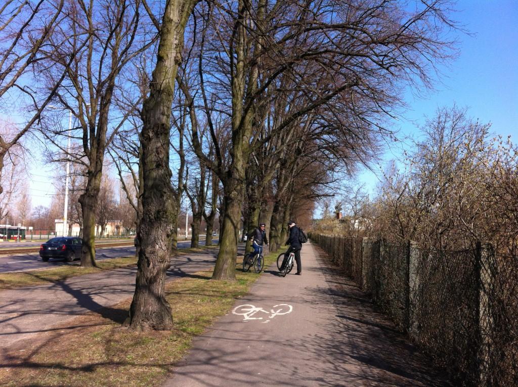 Bike trip from Gdansk to Sopot Beach