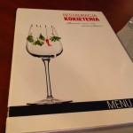 Menu, Restaurant Kocieteria, Gdansk