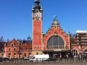 Railway station, Gdansk