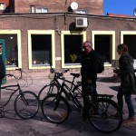 Renting bikes in Gdansk