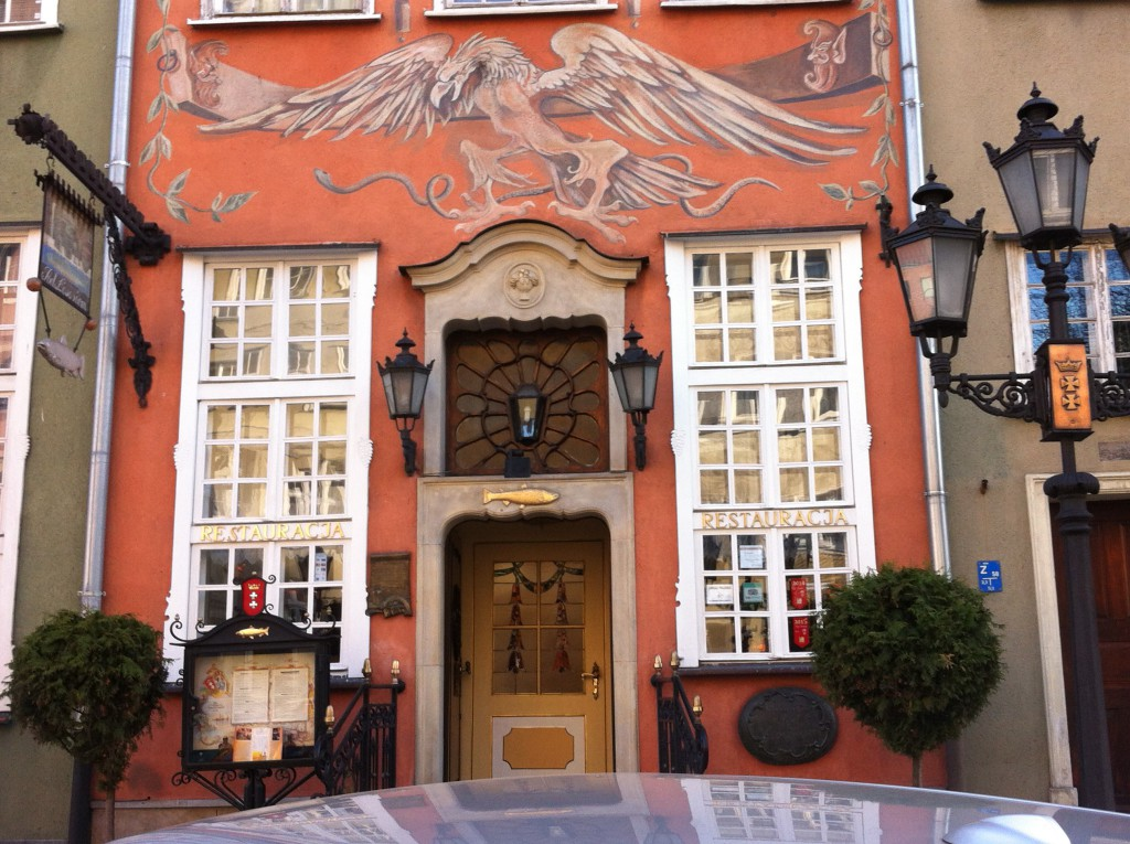 Pod Lososiem Restaurant, Gdansk