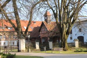 Stables of Palac Ciekocinko, Poland