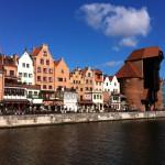 The Crane and Motlawa, Gdansk
