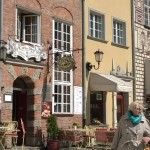 Town houses, Dlugi Targ, Gdansk