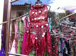 A dress, Antalya Old Town