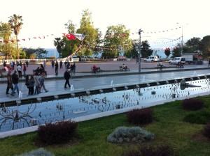 A park in Antalya