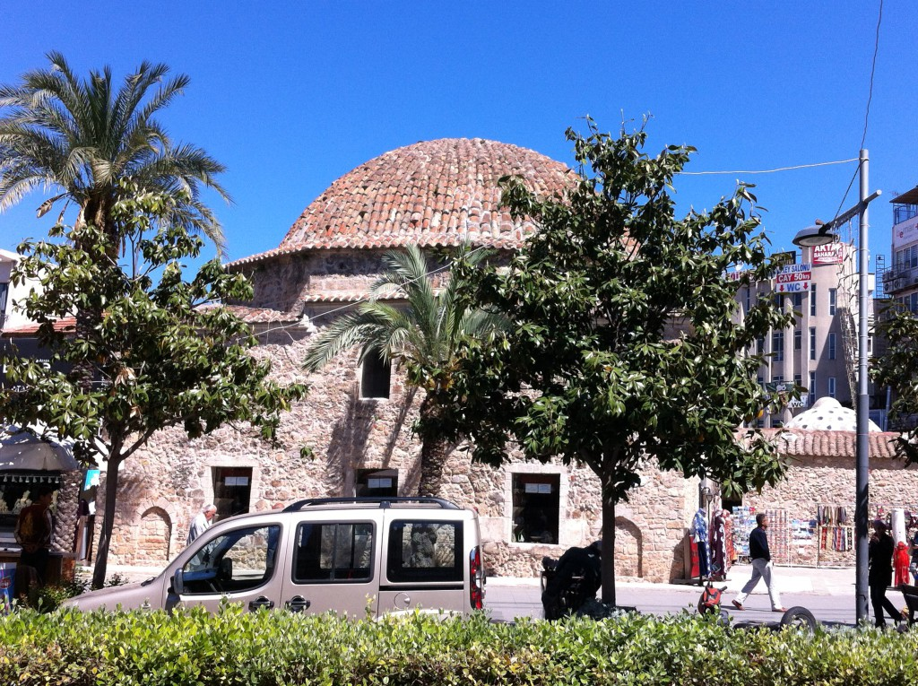 Market hall in Antalya Old Town