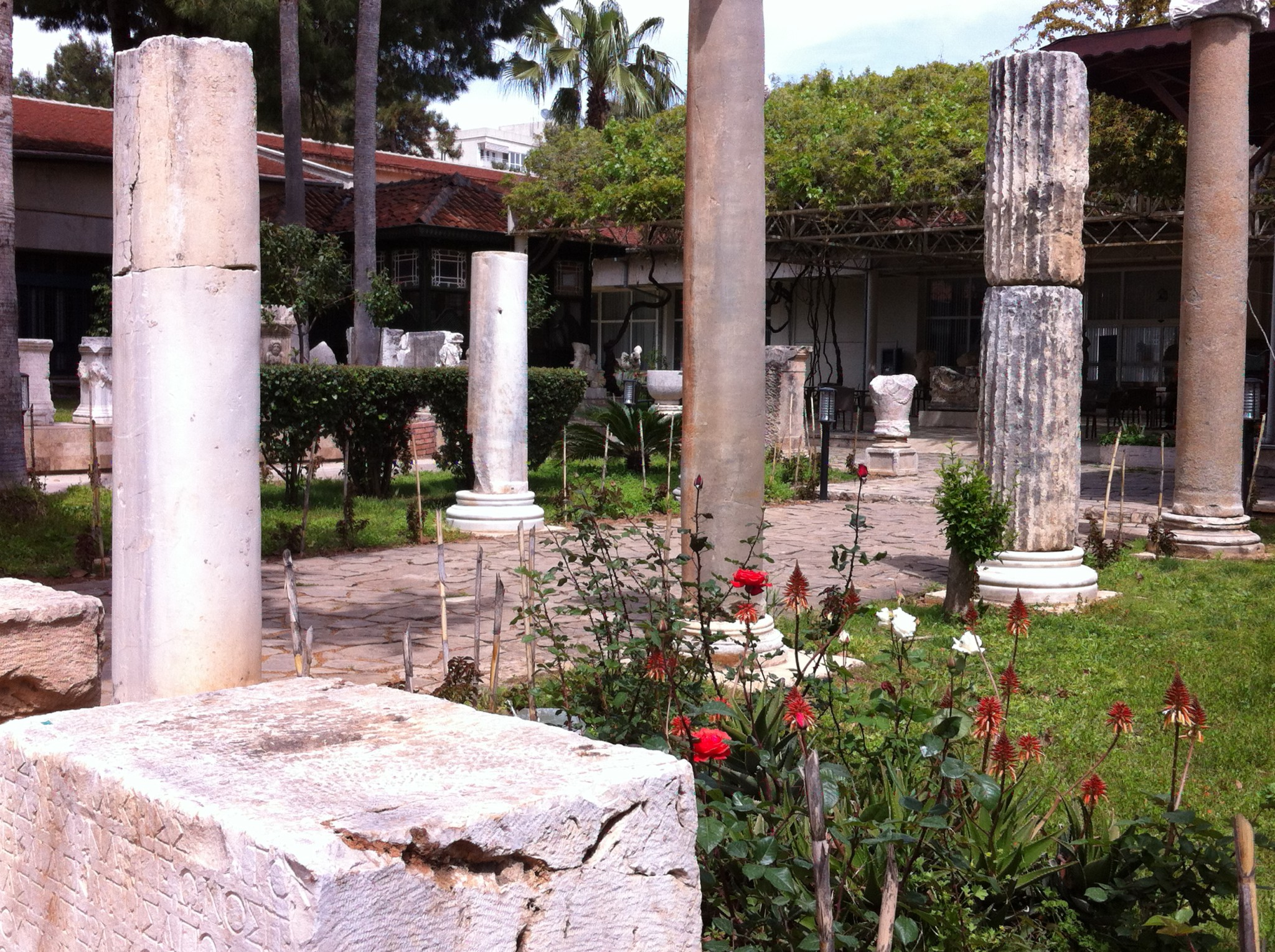 Antalya Museum pillars - Routes and Trips
