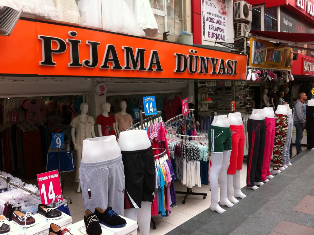 A shop in Antalya