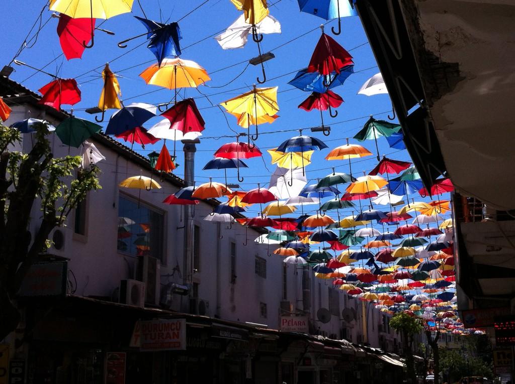 Dining street, Antalya