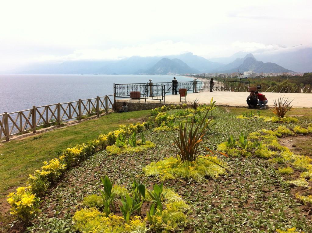 A view from Ataturk Park, Antalya