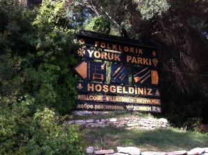 Entrance of Yoruk Park, Kemer