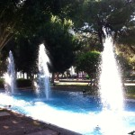 Fountains in Karaalioglu Park, Antalya