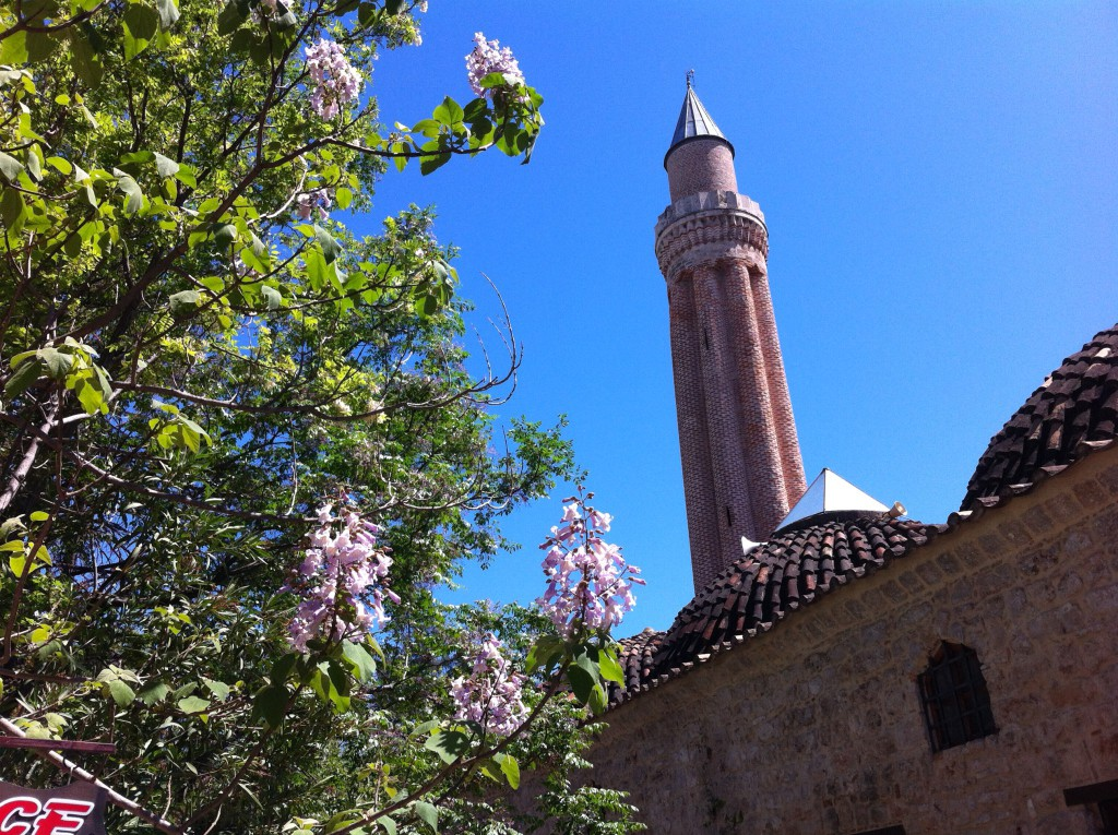 Fluted Minaret, Antalya Old Town