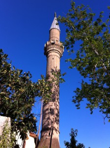 Mosque in Antalya Old Town