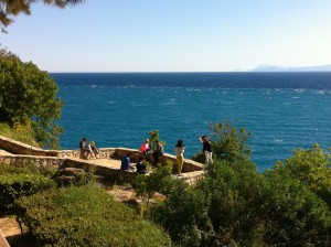 Locals in Karaalioglu Park, Antalya