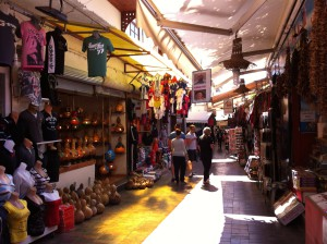 Shops in Antalya Old Town