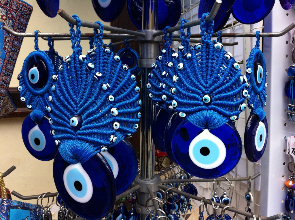 Fatima's eyes, Antalya Old Town