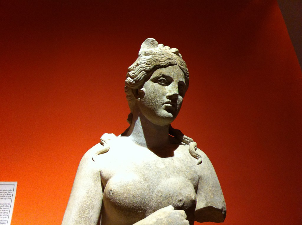Statue of Aphrodite, Antalya Archeological Museum