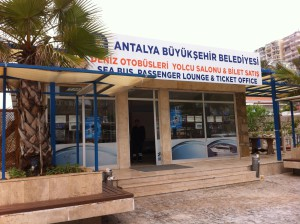 Tickets to Sea Bus to Kemer, Antalya
